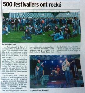 Le Courrier Cauchois du 5 juillet 2013