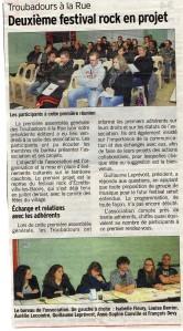Le Courrier Cauchois du 18 janvier 2013
