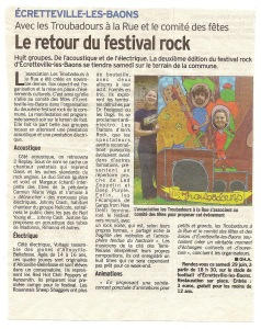 Le Courrier Cauchois du 28 juin 2013