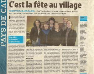 Paris-Normandie du 19 janvier 2013