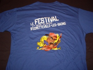 Exemple : Tshirt Festival 2014